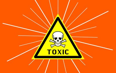 YOU ARE TOXIC!